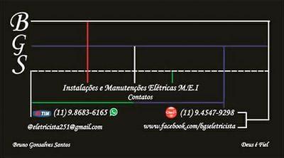BGS Instalações e Manutenções Elétricas MEI