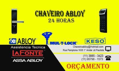 Chaveiro Abloy 24h
