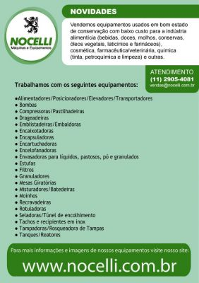 Nocelli Maquinas e Equipamentos Industriais